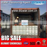 Quality Assured 50% BWD-01 Water Decoloring Agent Color Removal Chemical for Dyeing Effluent