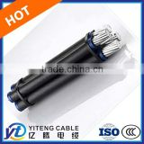 4*16mm2 XLPE/PVC insulated LV/HV ABC cable Hot sell Aerial bundled overhead cable price