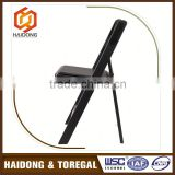 Gold Supplier Professional Design Black Resin Folding Chair