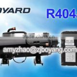 R404A heat exchanger refrigerator compressor for carrier transicold trailer and rail refrigeration units