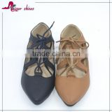 SSK16-322 Sexy Flat Causal Shoes Girls Fancy Ballerina Shoes lady shoes                                                                         Quality Choice