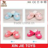 cute plush sheep slippers lovely lamb plush slippers hot sale lades plush animal slippers