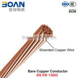 BCC, Bare Copper Stranded Conductor (BS EN 13602)