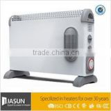 Convector heater with timer and turbo fan