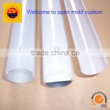 OEM transparent PVC/PC extrusion lampshade for LED