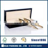 elegant large wooden gift box for double pens