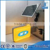 Solar power System Advertising Vacuum Forming Logo LED light box Sign                                                                         Quality Choice