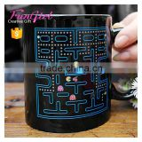 Pac Man Heat Magic Mug Color Changing Mug All Kinds Of Ceramic Drinkware