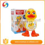 dancing duck animal battery operate shaking with light music