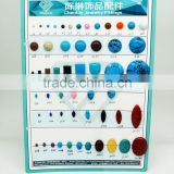 Acrylic turquoise gemstone for jewelry making, ring bracelet and other fashion accessories
