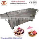 Rolling Fried Ice Cream Machine With Cooling Storage|Fried Ice Cream Roll Machine                                                                         Quality Choice                                                     Most Popular