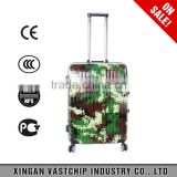 Aluminium trolley pattern military travel bag Case for suitcase Fashion Travel Hardside Luggage