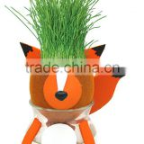 China import diy toy educational toys growing grass hair doll