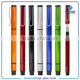Customized Classic plastic ball pen with highlighter marker
