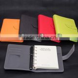 "5""/7"" PU leather cover organizer/planner with belt"
