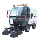 Large road sweeper, dust collector with water spray/CE approved factory sweeper car/airport cleaning machine
