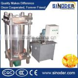 Supply High oil output rate cold press organic camellia oil /waste tires oil extraction machine