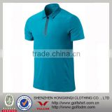 100 Polyester Dry fit quick dry Men's Athletic Tennis Collar T shirts