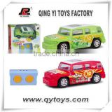 Beauty season design pattern 1:36 4 Channel infrared controll plastic mini car toy