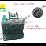 Stainless steel scourer making / mesh pot scourer making machine Whatsapp:0086-15589098768