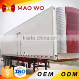 Hot selling Cimc refrigerator cold room van truck in South African