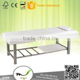 wholesale high quality flat exam bed stainless steel massage table G-006