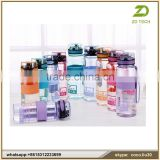 Customizable Spray fan leak-proof plastic sport mist water bottle bpa free with handle lid OEM ZDS1899                                                                         Quality Choice