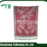 Economic classical cashmere and wool scarf