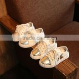 In the autumn of 2016 children's shoes shoes casual shoes star Girls Boys White Shoe Shoes