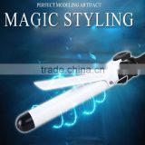 PTC Digital rotating hair curling iron auto hair styler wand