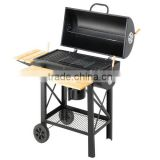 Steel Metal Type and Flame Safety Device Safety Device round charcoal bbq grill