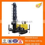 Kaishan new condition 300m depth water well drill rig truck mounted crawler water well rotary drilling rigs and drill machine