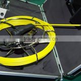 50m Cable Fiber Glass 7'' TFT LCD Waterproof Pipe Sewer Inspection Camera Color 600TVL Borescope Endoscope with DVR