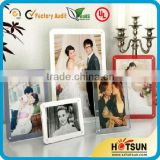 2016 hot sale clear acrylic cube photo frame/ acrylic 2 sided picture frame/ hot sexy six pictures photo frames