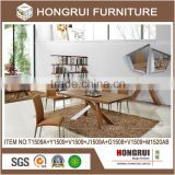 China guangdong designed living room furniture restaurant dinining indoor table chair wholesale