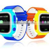 child tracker gps tracker watch kids with SOS panic button, GPS+LBS+WIFI, android and iOS app and long standby time