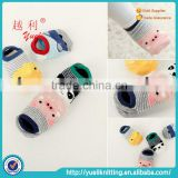 Baby ankle anti-slip custom minion cotton socks for adults