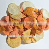Mixed vegetable chips dried vegetable