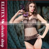 Wholesale Black Crochet China Lingerie Fashion Body Stocking