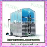 newest PUXIN small pvc poultry manure removal system