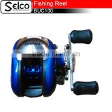 Aluminium spool spinning fishing reel BUC100