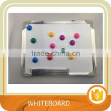Whiteboard, Magnetic Dry Erase Board with silver Aluminium Frame. and 8 magnets with board. Trade assurance.