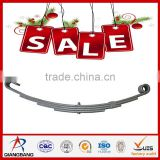 Truck spring rubber seat cushion for trailer leaf springs
