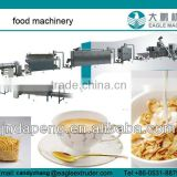 full automatic and CE certificate Corn flakes production line, breakfast cereals snack extrusion line from jinan