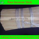 Raw Bamboo Sticks For Incense