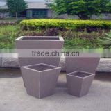 Factory Clay Plant Planter Canister Plant Container DORCHESTER FAMILY OF PLANTERS AND HALF PLANTER QL-13113 Lowest Price