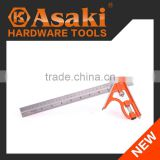 AK-2592 High Precision angle combination ssquare ruler measuring tool