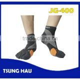 Color Running Wool Five Toe Socks