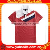 Personalized oem casual short sleeve bamboo color combination collar design polo shirts