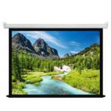 Cynthia 84 Inch Matte White Electrical Screen For Home Theater